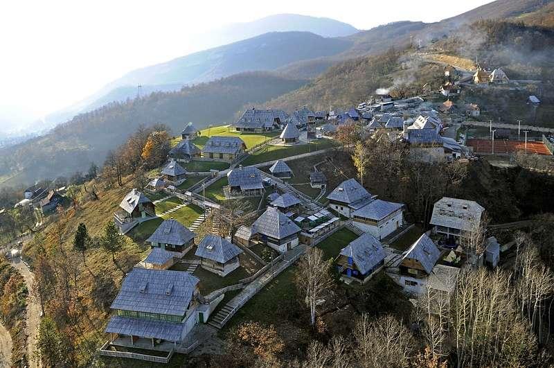 Bajka koja se odigrava u gradu Drvengradu
