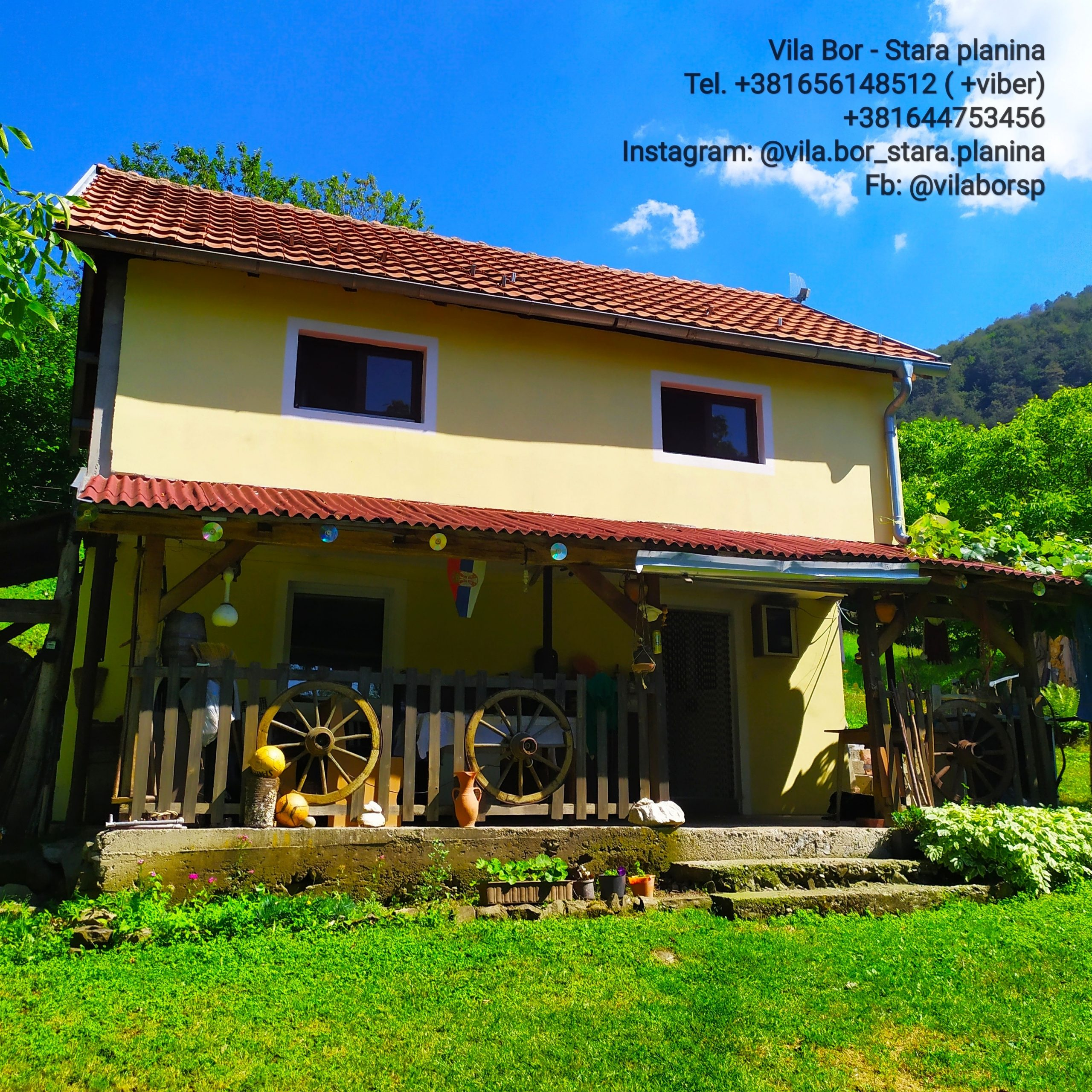 Vila Bor – Crni Vrh – Stara planina