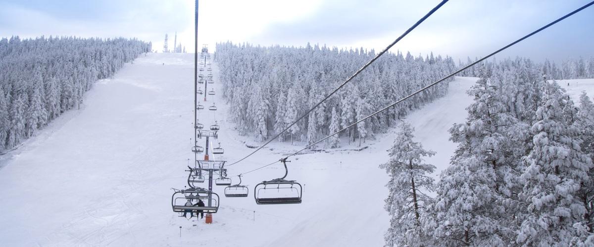 Skijaliste na torniku na zlatiboru