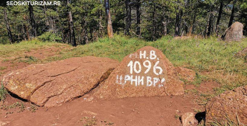 Šta obići na Divčibarama, crni vrh